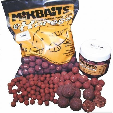 Boilie Mikbaits Express original 1 kg,18 mm Monster Crab